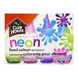 Club House, Food Colour Preparation, Neon, 4 Count