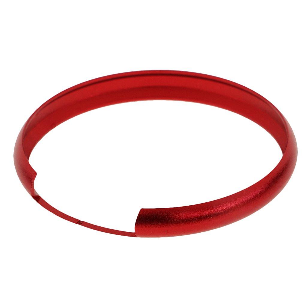 KESOTO Cubierta Protectora Para Llaves De Aluminio De 45 Cm Para BMW Mini Cooper Rojo