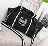 Victoria's Secret PINK Gym Duffle Tote Bag (Seafoam/Grey Marl)