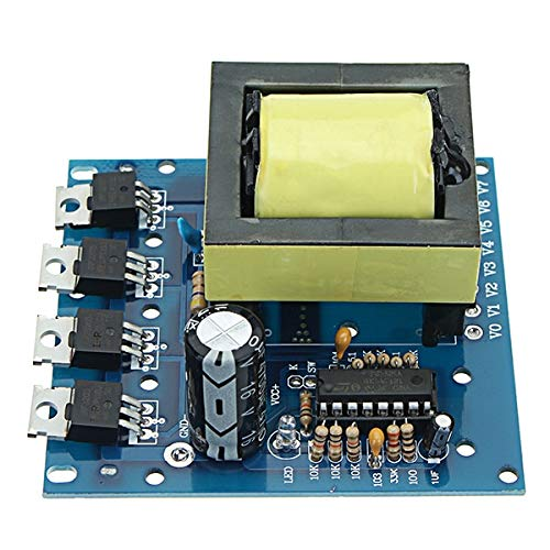 Power Inverter - 500W DC 12V 16V to AC 18V 0-220V-380V DC to AC Inverter Boost Step Up Board Converter Transformer Low Power Consumption