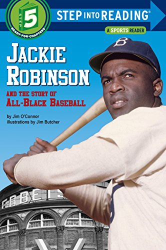 Books : Jackie Robinson and the Story of All Black Baseball (Step into Reading)