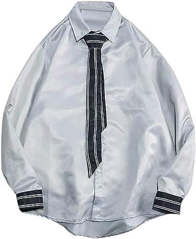 ForgetMe - Juego de camisa y corbata para hombre (manga larga ...