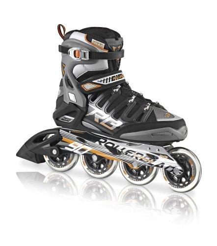 Rollerblade Men's 2013 Crossfire 90 Inline Skates (Black/Orange)