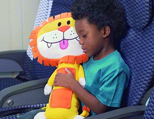 Seat Pets Yellow/Orange Lion Car Seat Toy