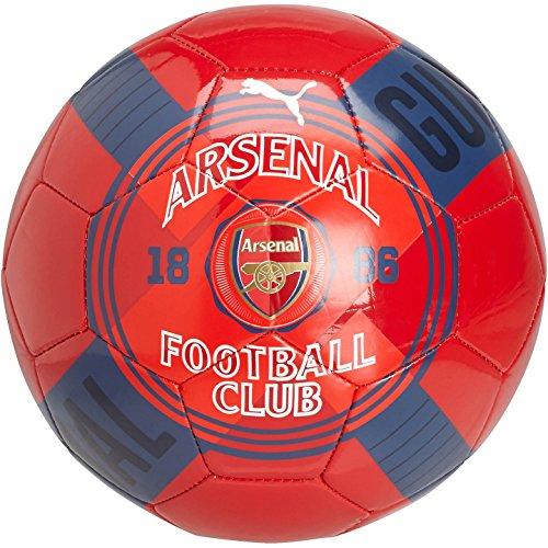 Puma Arsenal Club Crest Graphic Training Soccer Ball (5)