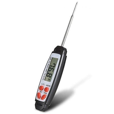 Compra YYHSND Sonda Tipo Bolígrafo Electrónico Termómetro para Alimentos Carne A Prueba De Polvo Instrumento De Medición De Temperatura Digital 178 * 28 ...