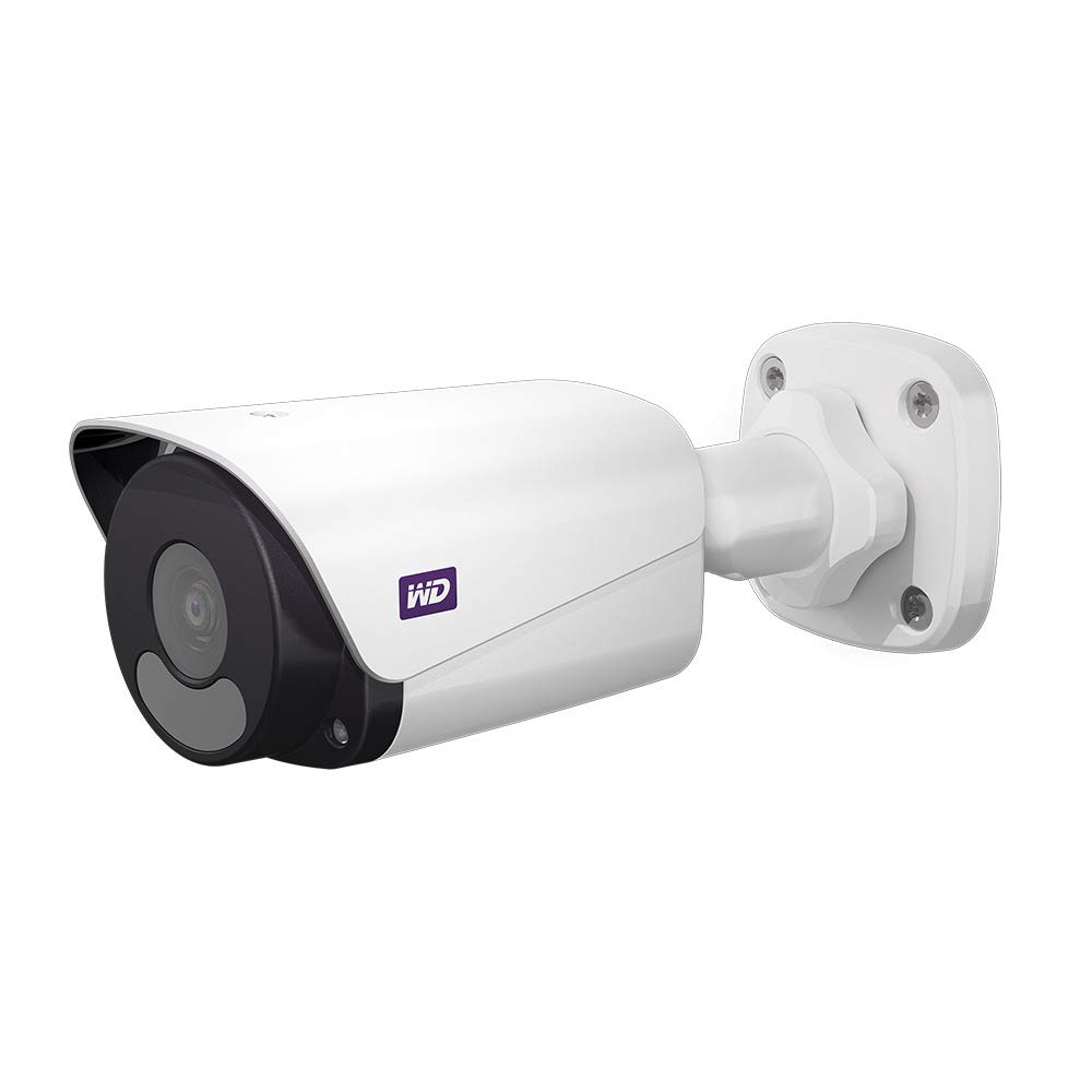 WD ReadyView 4MP Surveillance Camera - 1520p, PoE, IP67-rated,Motion Detection, Night Vision - WDBWGK0000NWT-HESN by Western Digital