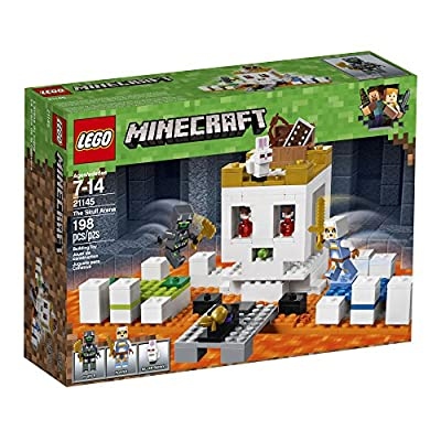 LEGO Minecraft The Skull Arena 21145 Building Kit (198 Pieces): Toys & Games