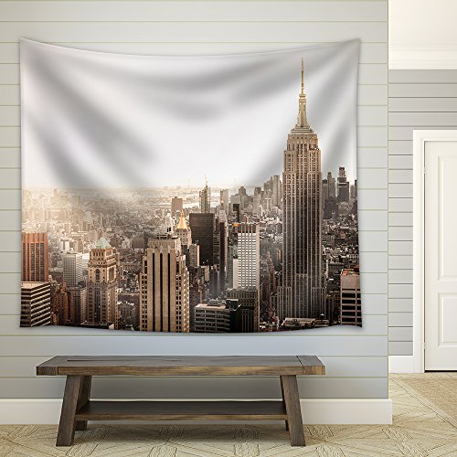 Empire State Building in New York Fabric Wall