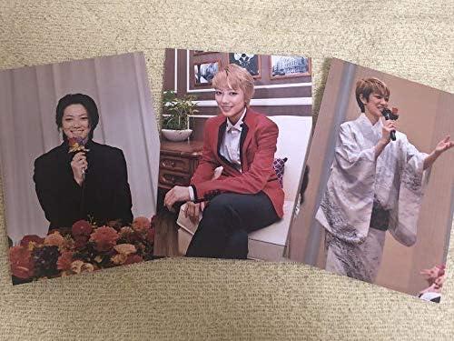 七海ひろきお茶会写真3枚 +おまけハンカチ