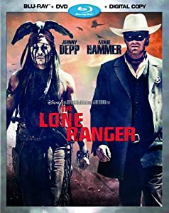 The Lone Ranger (Blu-ray + DVD + Digital Copy) from Walt Disney Studios Home Entertainment