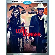 The Lone Ranger (Blu-ray + DVD + Digital Copy) (2015)