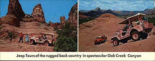 Don Pratt Jeep Tours Sedona, Arizona Original Vintage Postcard