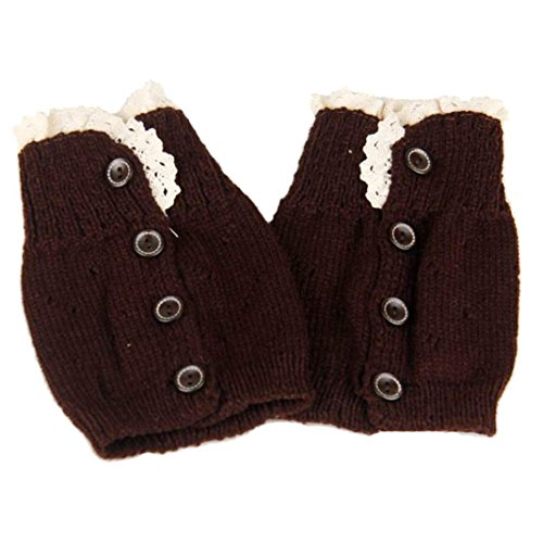 DDLBiz Womens Crochet Knitted Warmers