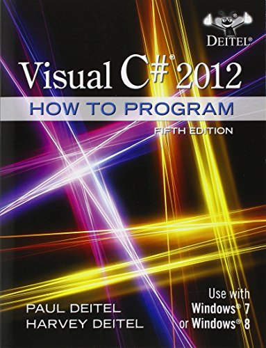 Visual C# 2012:How To Program W/Access