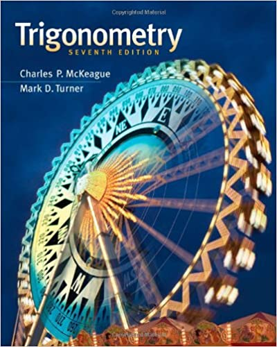 Amazon trigonometry 9781111826857 charles p mckeague mark trigonometry 7th edition by charles p mckeague fandeluxe Images