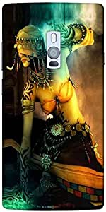 Snoogg Forest Goddess Tribal Designer Protective Back Case Cover For One Plus...