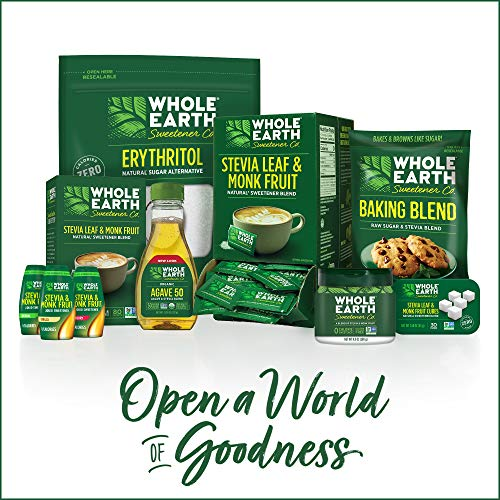 WHOLE EARTH SWEETENER Stevia and Monk Fruit Sweetener, Erythritol Sweetener, Sugar Substitute, Zero Calorie Sweetener, 1,000 Stevia Packets by Whole Earth Sweetener Company (Image #7)