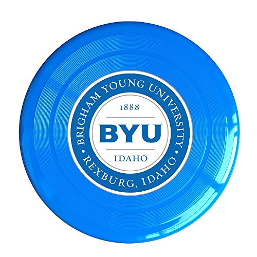 XJBD Unisex BYU Idaho Logo Outdoor Game, Sport, Flying Discs,Game Room, Light Up Flying, Sport Disc ,Flyer Frisbee,Ultra Star RoyalBlue One - Paul Wesley Sunglasses