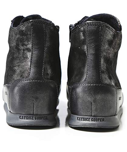High Black Women's Cooper Trainers Lined Shearling Monet Top Black Candice q8CfdwFWXF