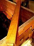 Exotic YELLOWHEART Turning Lathe Wood Blank Lumber 2 X 2 X 24''