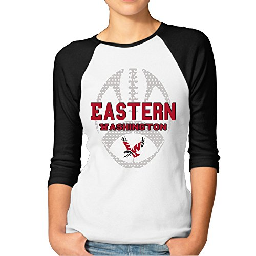 MBMH Women's Eastern Washington Raglan 3 - Swoop Pullover Hoodie Shopping Results