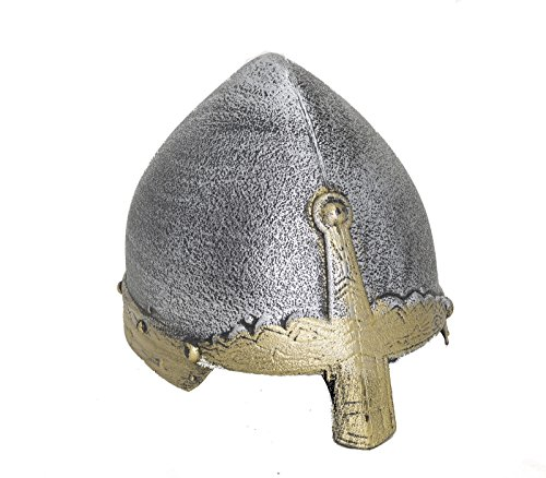 Child Medieval Knight Crusader Spangenhelm Costume Helmet ()