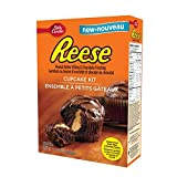 Reese Peanut Butter Filling and Chocolate Frosting Cupcake Mix, 527 Gram