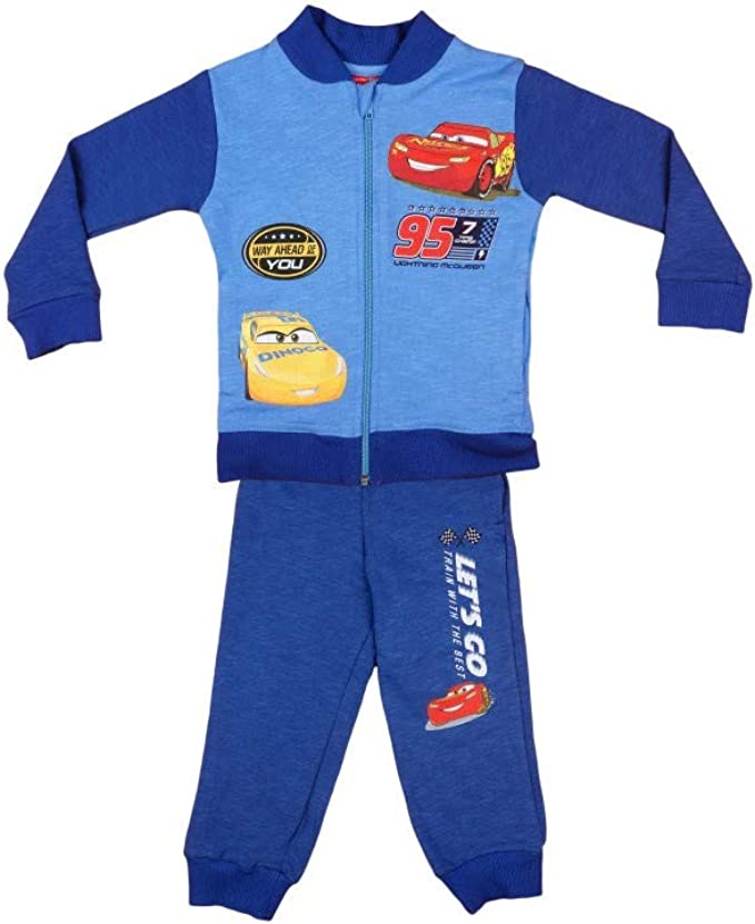Disney Cars Baby Jogginganzug Trainingsanzug Kinder Blau//Grau