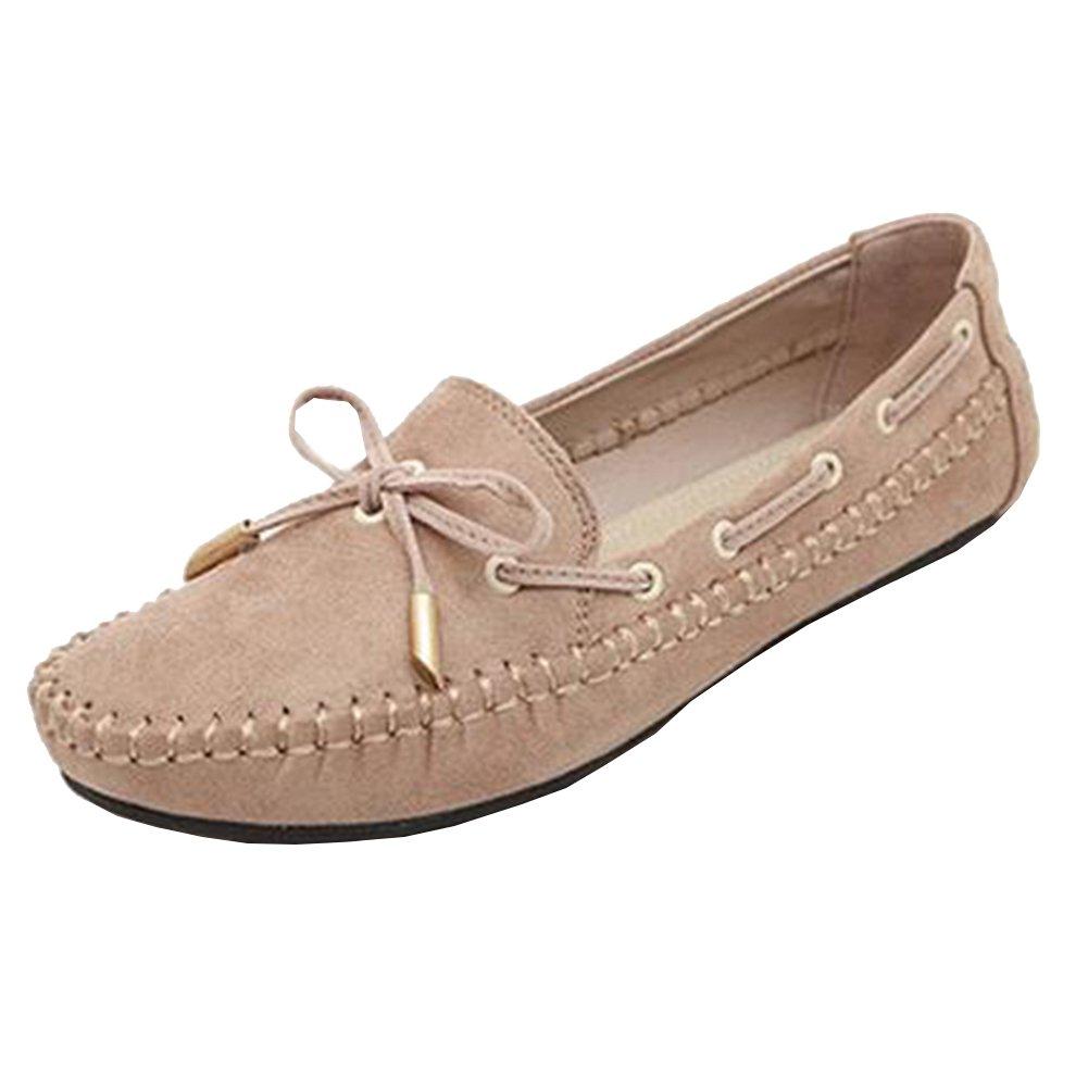 Classic Boat Shoe Damen Bootsschuhe Atmungsaktiv Schuhe Bogen Knoten Mädchen Violett 37 WBIBrMuY