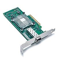 ipolex for Intel X520-DA1, 10GbE Converged Network Adapter(NIC), 82599ES Chipset, PCI-E X8, Single SFP+ Port