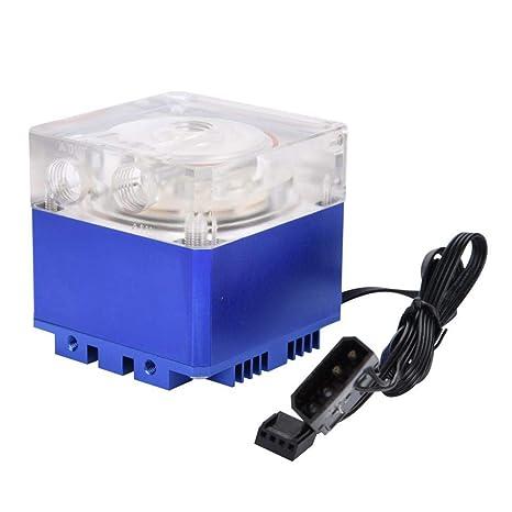 Richer-R 3000RPM Radiador de Enfriamiento para Ordenador,800L/H Refrigerador Bomba de