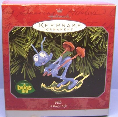 Hallmark Keepsake Ornament Flik from A Bug's Life 1998