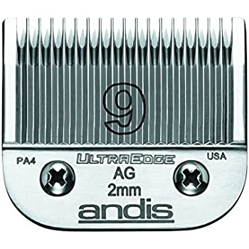 andis steel ultraedge dog clipper blade size9 5