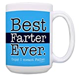 Best Dad Gifts for Dad Best Farter Ever Oops I Meant Father Funny Dad M Deal (Small Image)