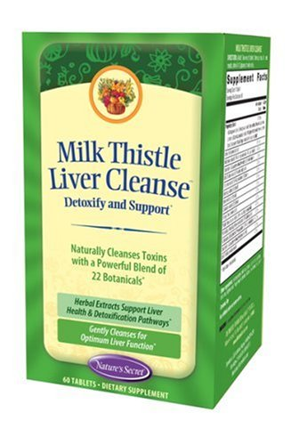 Nature's Secret Ultimate Liver Cleanse Dietary Supplement Tablets, 60-Count Bottles (Pack of 2) (Natures Secret Ultimate Liver)