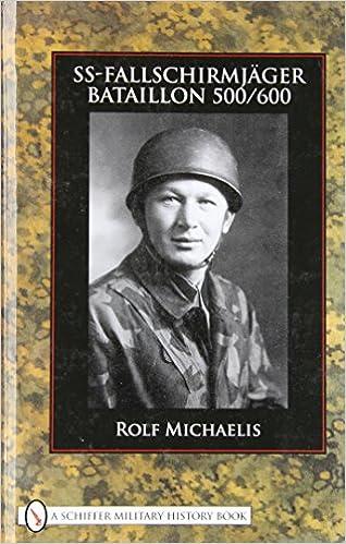 SS-Fallschirmjager-bataillon 500/600