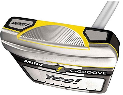 Yes Milly C-Groove Putter Steel Right Handed 34.5 in