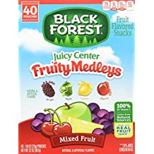 Black Forest Fruit Medley Fruit Snacks - 40 - 0.8 Oz Pouches
