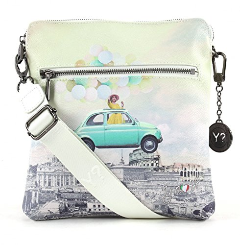BORSA YNOT SHOULDER BAG H-314 FUR FUNNY ROME