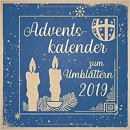 Adventskalender Zum Umblättern 2019 Weihnachtskalender Als