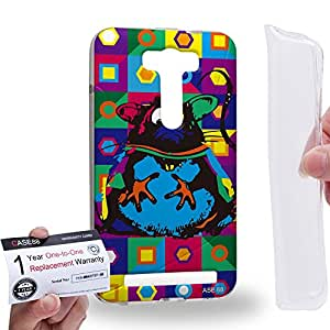 Case88 [Asus Zenfone 2 Laser ZE500KL] Gel TPU Carcasa/Funda & Tarjeta de garantía - Art Drawing Mouse Kawaii Abstract Animals Art2568