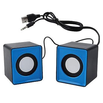 Estéreo portátil de la música de los Altavoces del USB del Altavoz ...