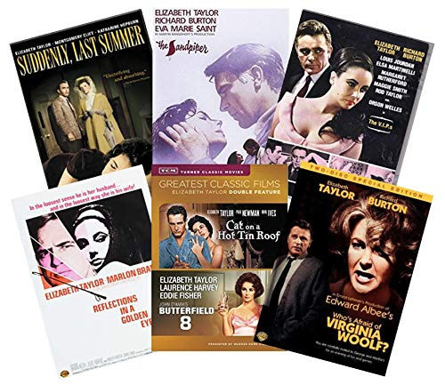 Ultimate Elizabeth Taylor 7-Movie DVD Collection: Cat on a Hot Tin Roof/Who's Afraid of Virginia Woolf/Butterfield 8/The Sandpiper/The V.I.P.s/Suddenly Last Summer/Reflections in a Golden Eye