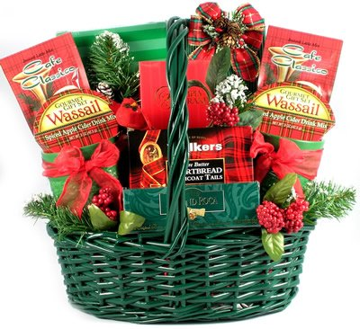 The Classic Christmas Gift Basket - Size Large (Cookie Hampers)