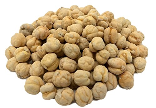 NUTS U.S. - Dried Chickpeas (Garbanzo Peas), Roasted, Lightly Salted (1 LB)