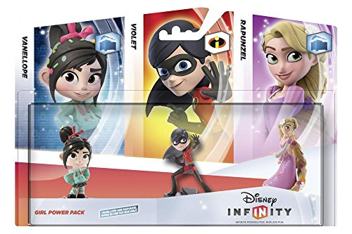 Disney Infinity Girls 3 Figure Power Nintendo product image