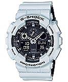Casio G Shock GA 100 Military Series Watches White One Size