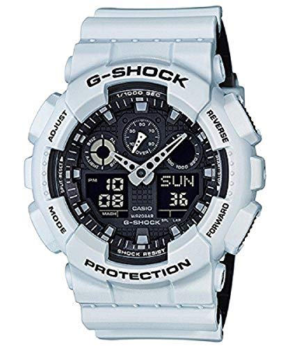 Casio G-Shock GA-100 Military Series Watches - White/One for sale  Delivered anywhere in USA