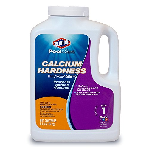 Clorox Pool&Spa 19005CLX Calcium Hardness Increaser, (Pool Water Calcium)